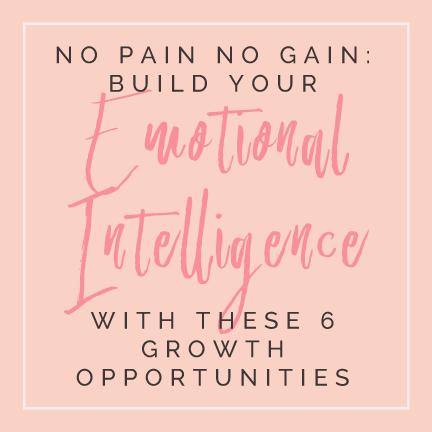 no pain no gain emotional intelligence author samantha eklund