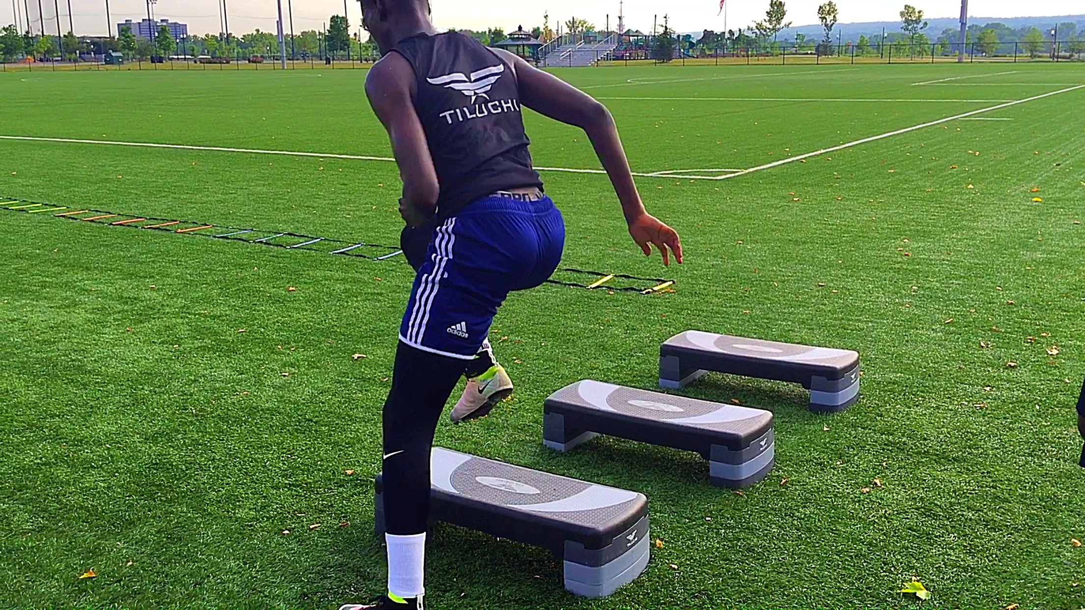 Timmothy Weah Training at Tiluchi Elite Summer 2016