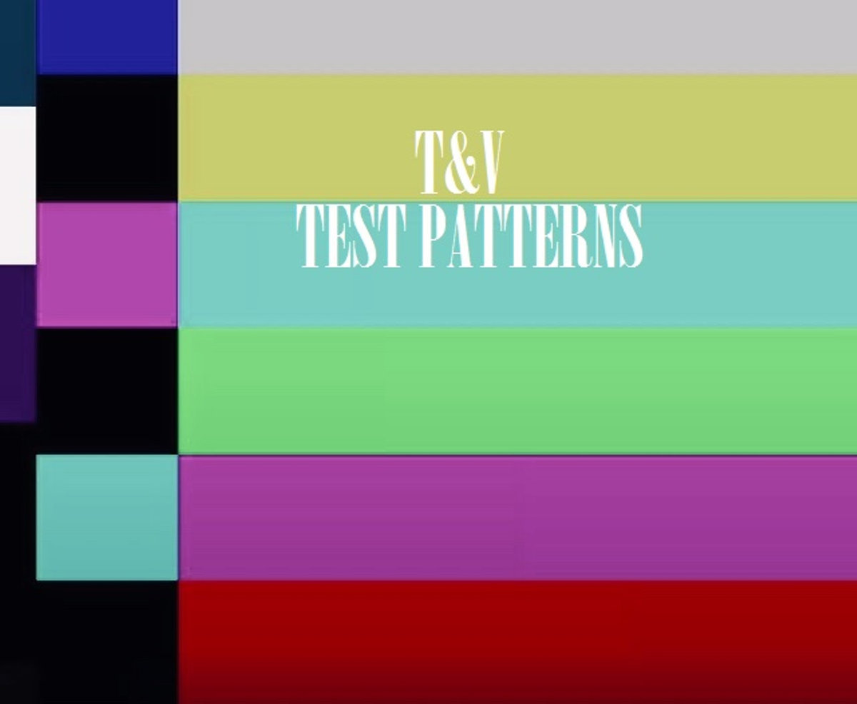 Test Patterns by T&V - the debut album from the father/son duo