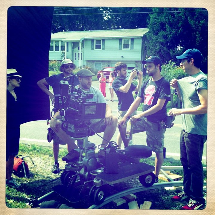 "On Location on ""Mount Joy"""