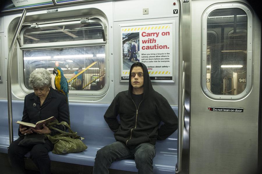 Rami Malek as Elliot Alderson.   Photo: David Giesbrecht/USA