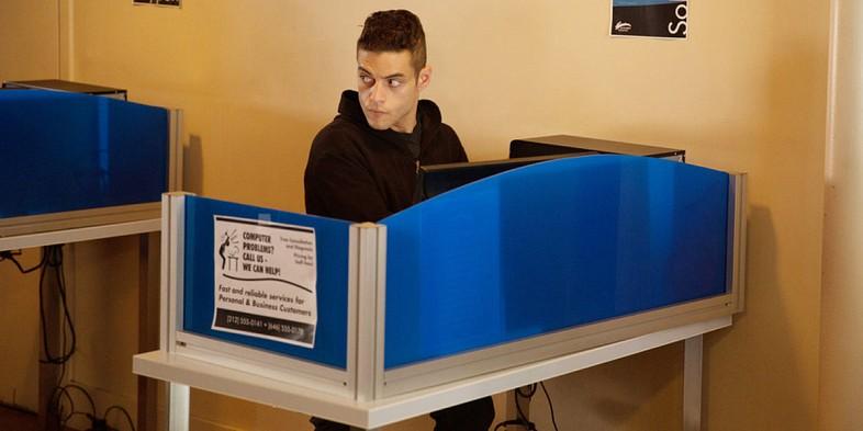 Rami Malek in Mr. Robot