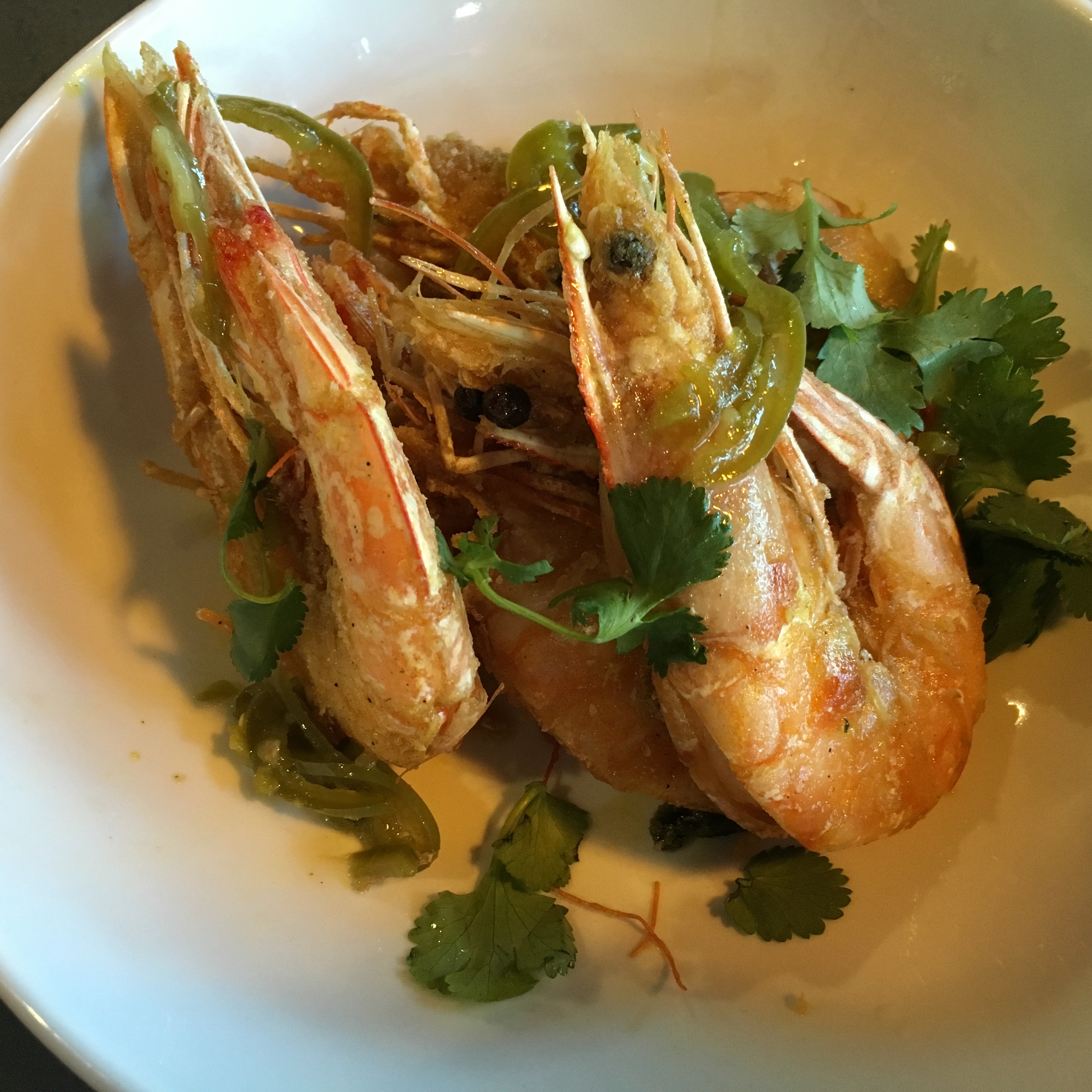 Salt and Pepper Shrimp (eat with the shell on)