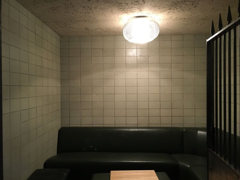 Photo of the nearly finished vault, Mikiah plans to paint the ceiling black I By Brenna Houck from  Eater.com