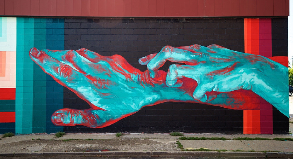 Mural by Taylor White, Photo from  Murals in the Market