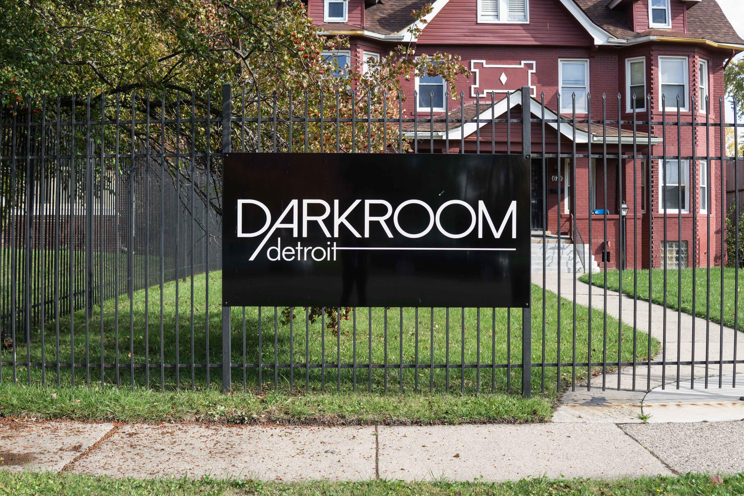 Front of Darkroom Detroit