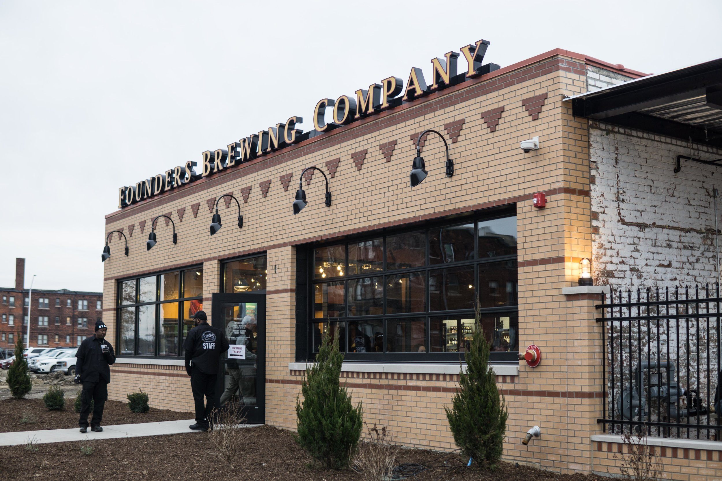 Founders Brewing Company in Midtown.