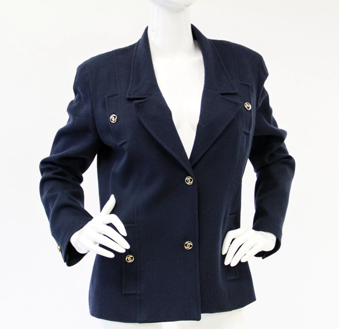 Vintage 1980's Chanel Blazer. Current Bid Price $113.