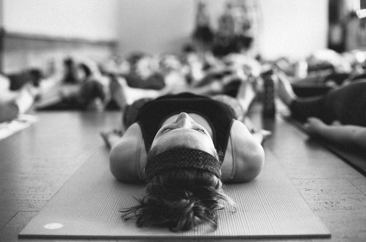 Meditation on the mat via Citizen Yoga