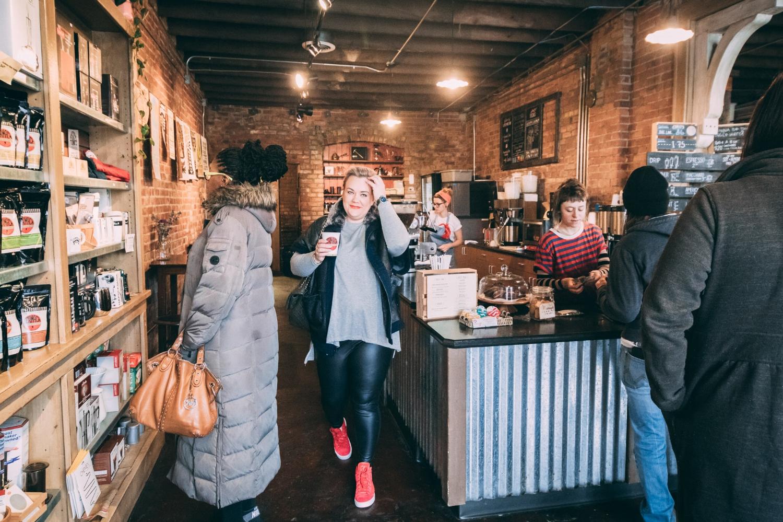 Photo taken at a visit to  Germack  for my favorite turmeric latte