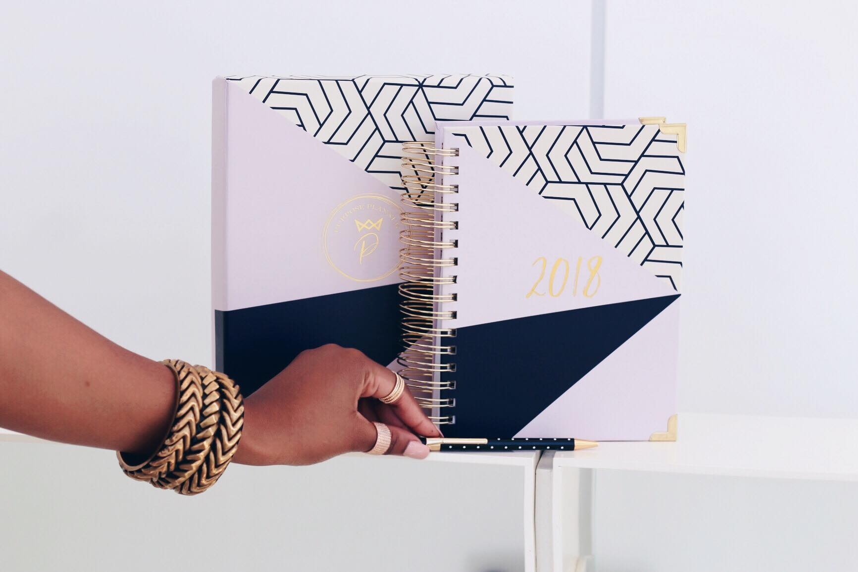 Purpose Planner has made scheduling easier (and cuter) than ever before. Photo found via @purposeplanner on Facebook