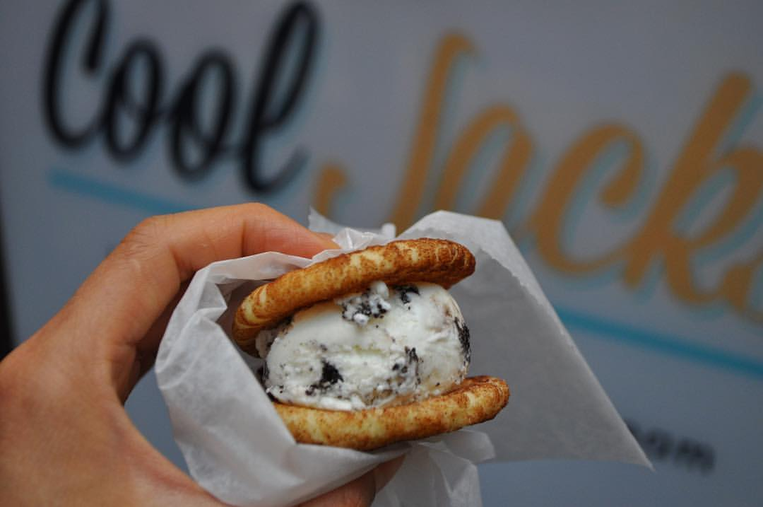 Cool down with an endless combo of ice cream sandwiches at Cool Jack's. Photo found via @cooljacksmi on Facebook