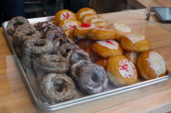 Donuts at Dilla's via Facebook