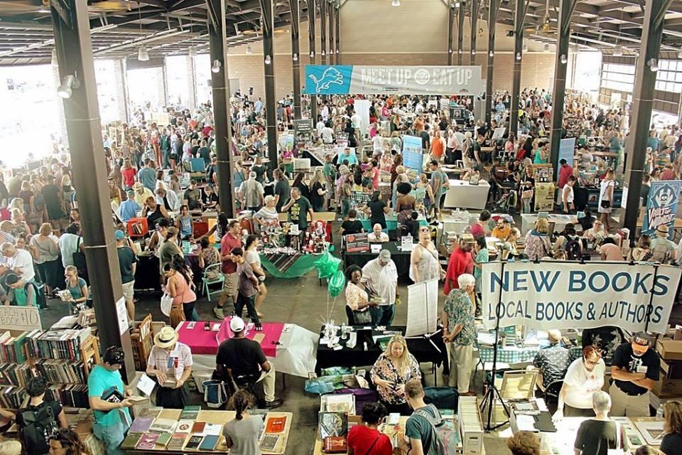 Photo via  Detroit Bookfest