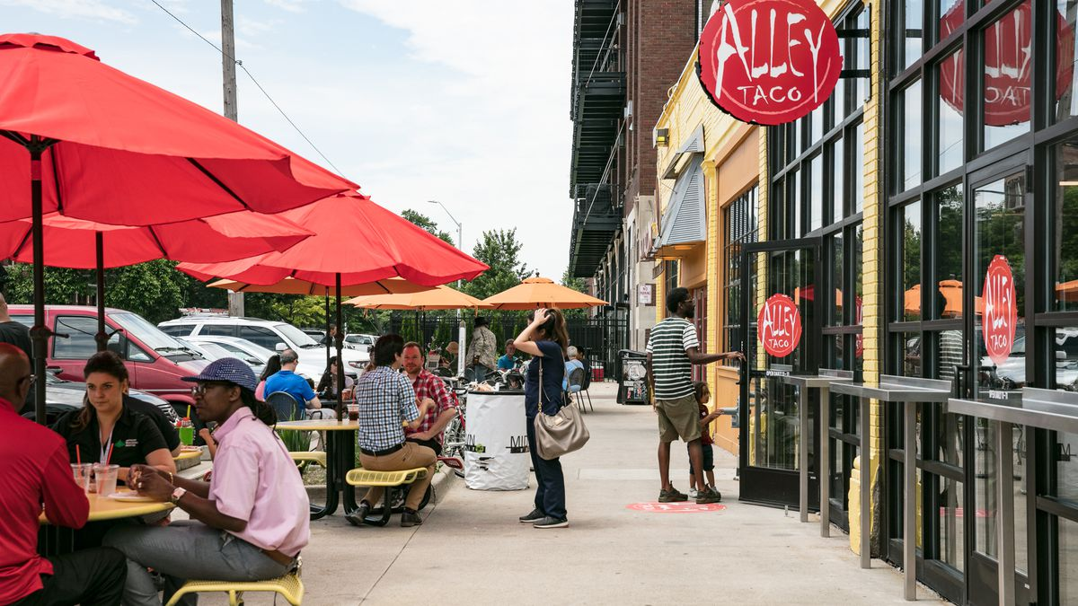 Candice's very own  Alley Taco  will be one of the taquerias serving up tacos. Photo via  Eater Detroit