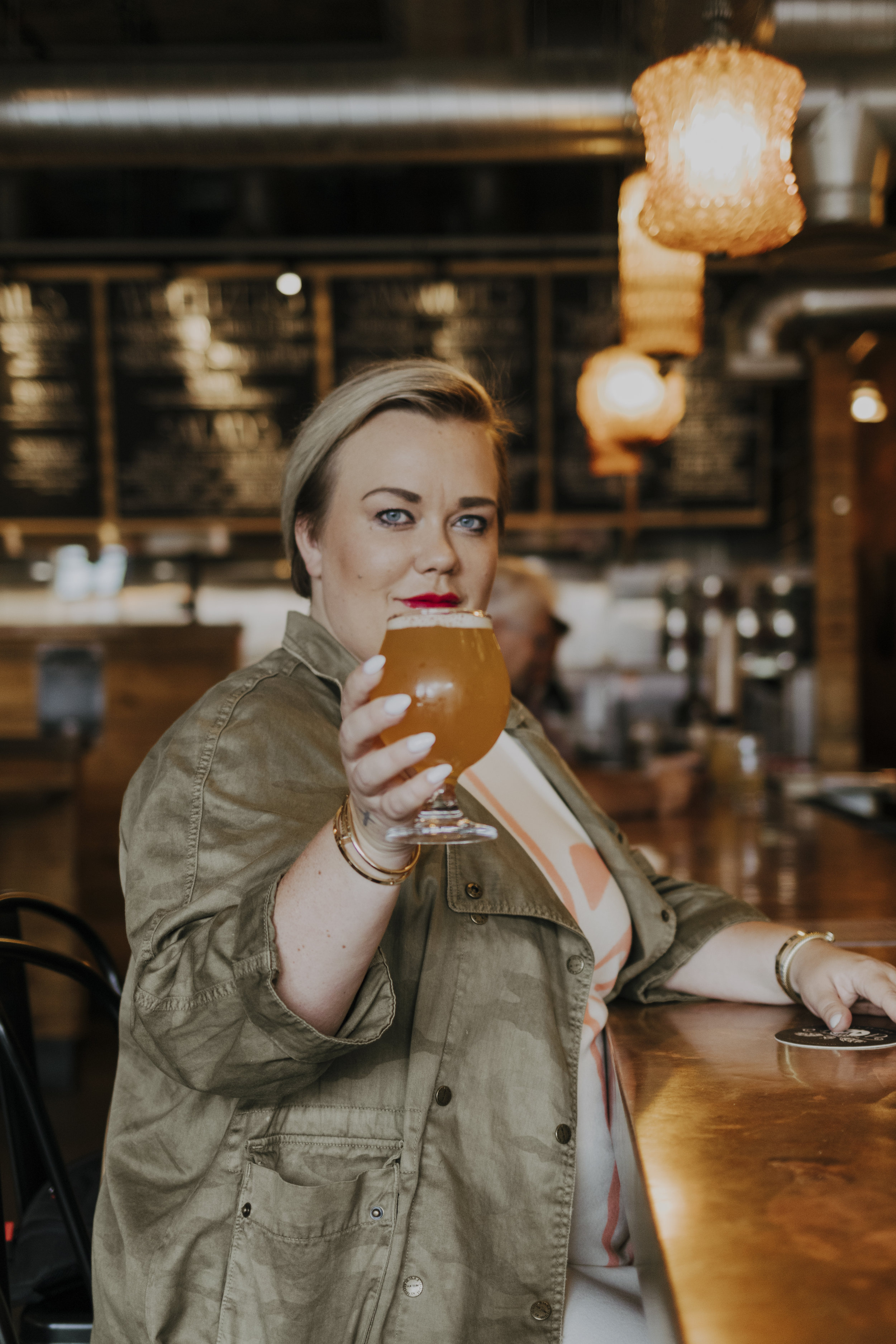 Local brewery's like  Jolly Pumpkin  in Midtown are great places to visit for the seasonal brew. Photo credits: Daniela Lisi.