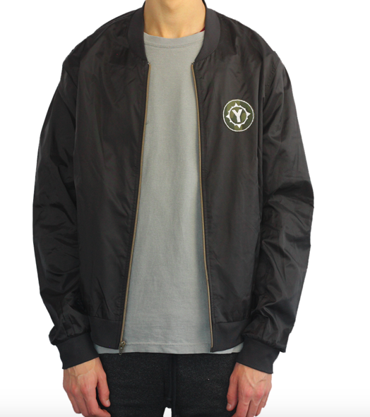 Lightweight Bomber Jacket- $55.00 (click to shop)