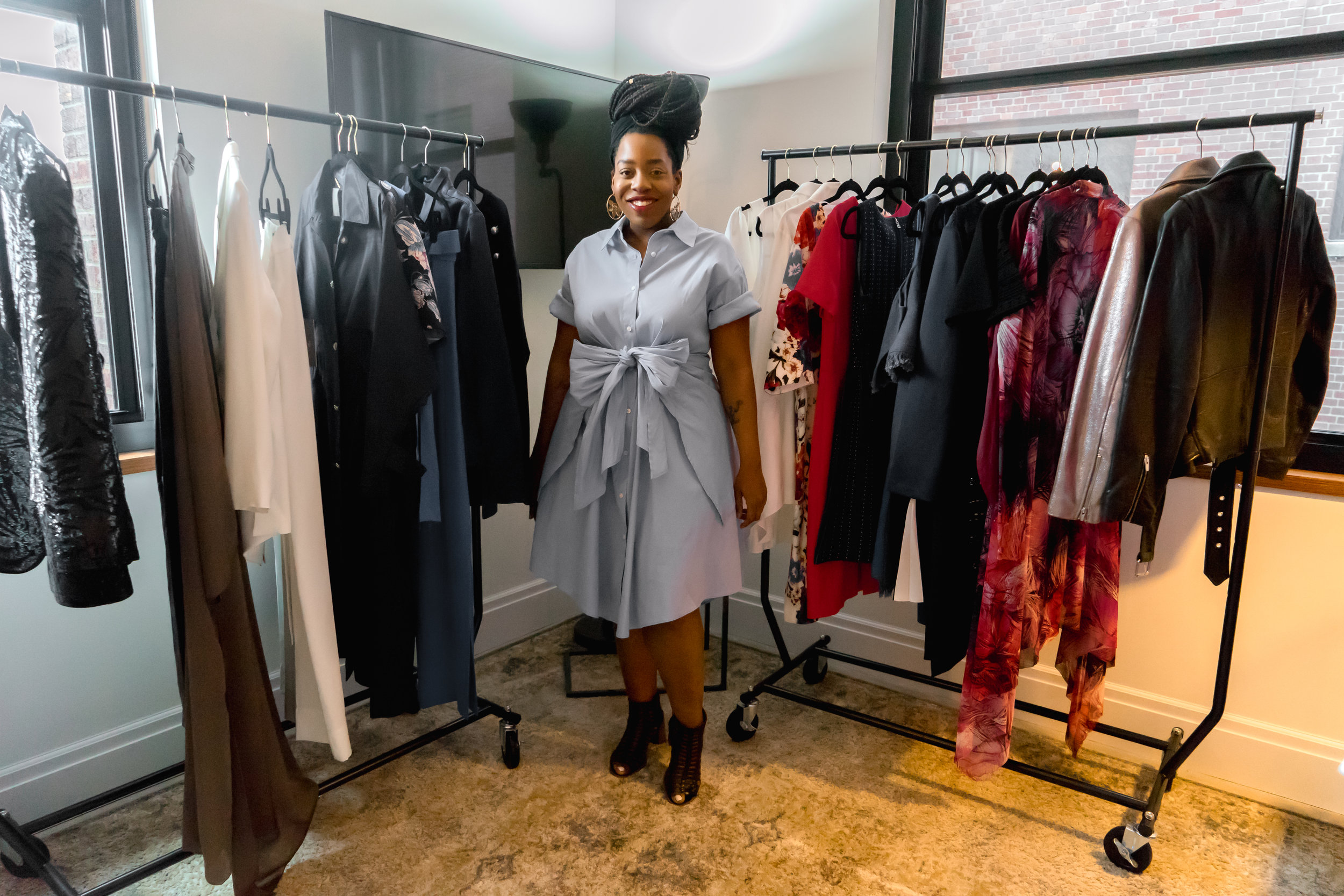Pop up offers designer fashion for women of all sizes - A partnership between celebrity stylist Christos Garkinos, J'adore Detroit and 11 Honoré brought size-inclusive designer apparel to the Detroit Foundation Hotel.Head to SEEN the Magazine for Lately with Lo's review of the transformational event.