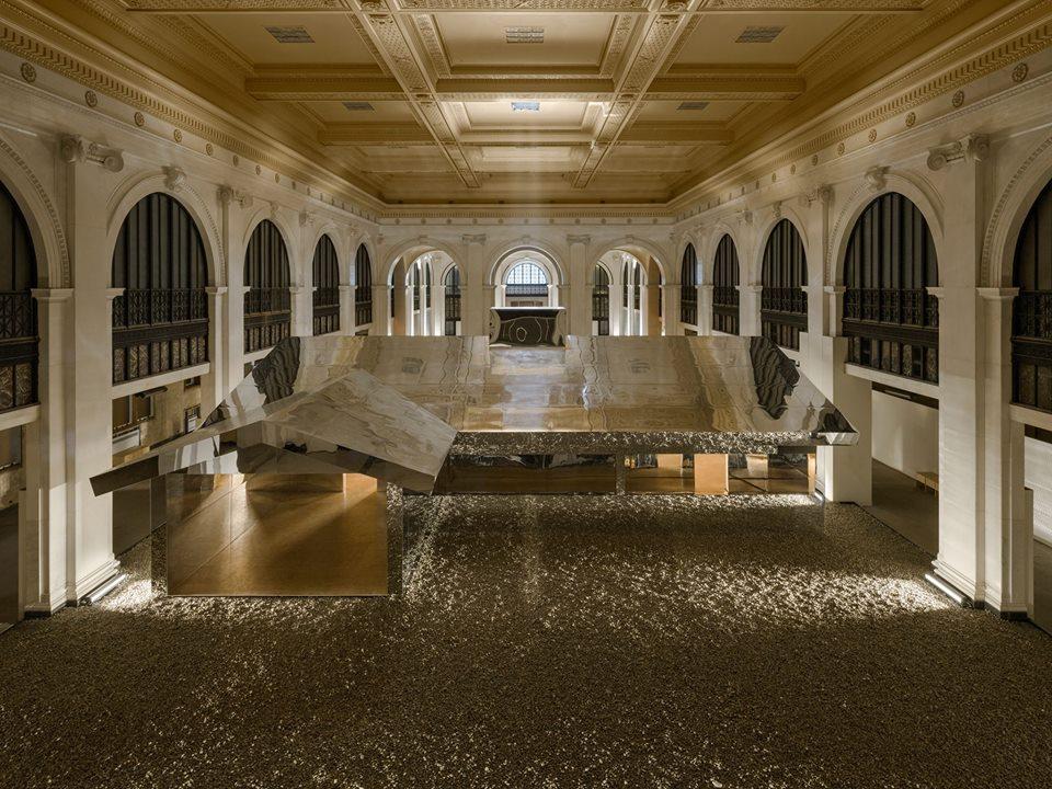 Photo via  Doug Aitken's Mirage Detroit  on Facebook