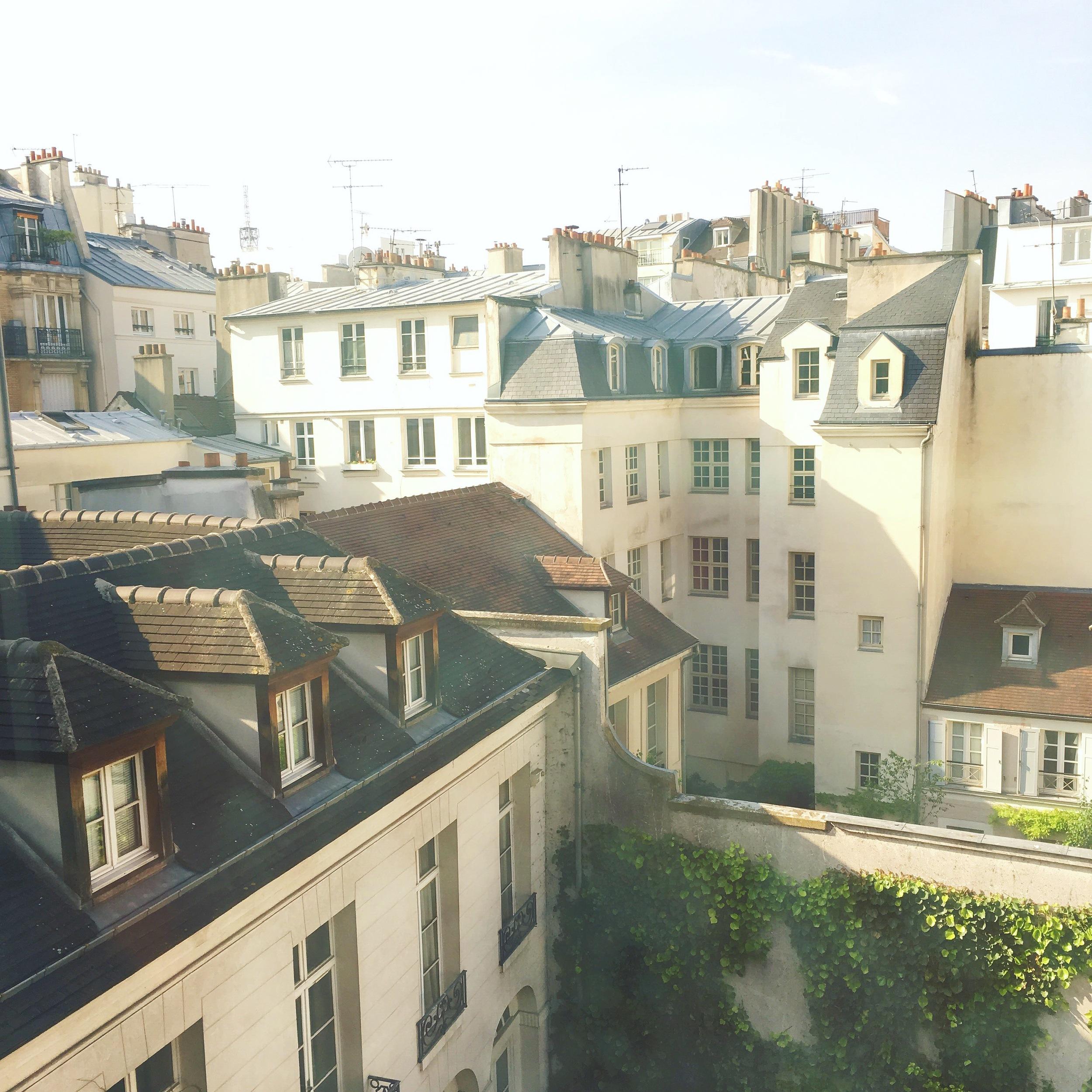 sunny morning in Paris | via my  Instagram