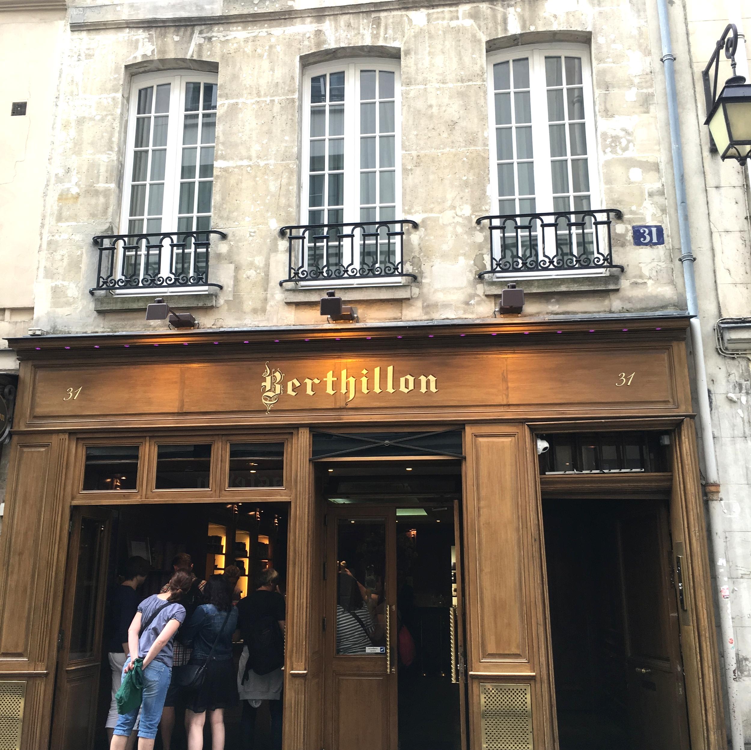 Berthillon, Paris #mfrancisdesigntravels
