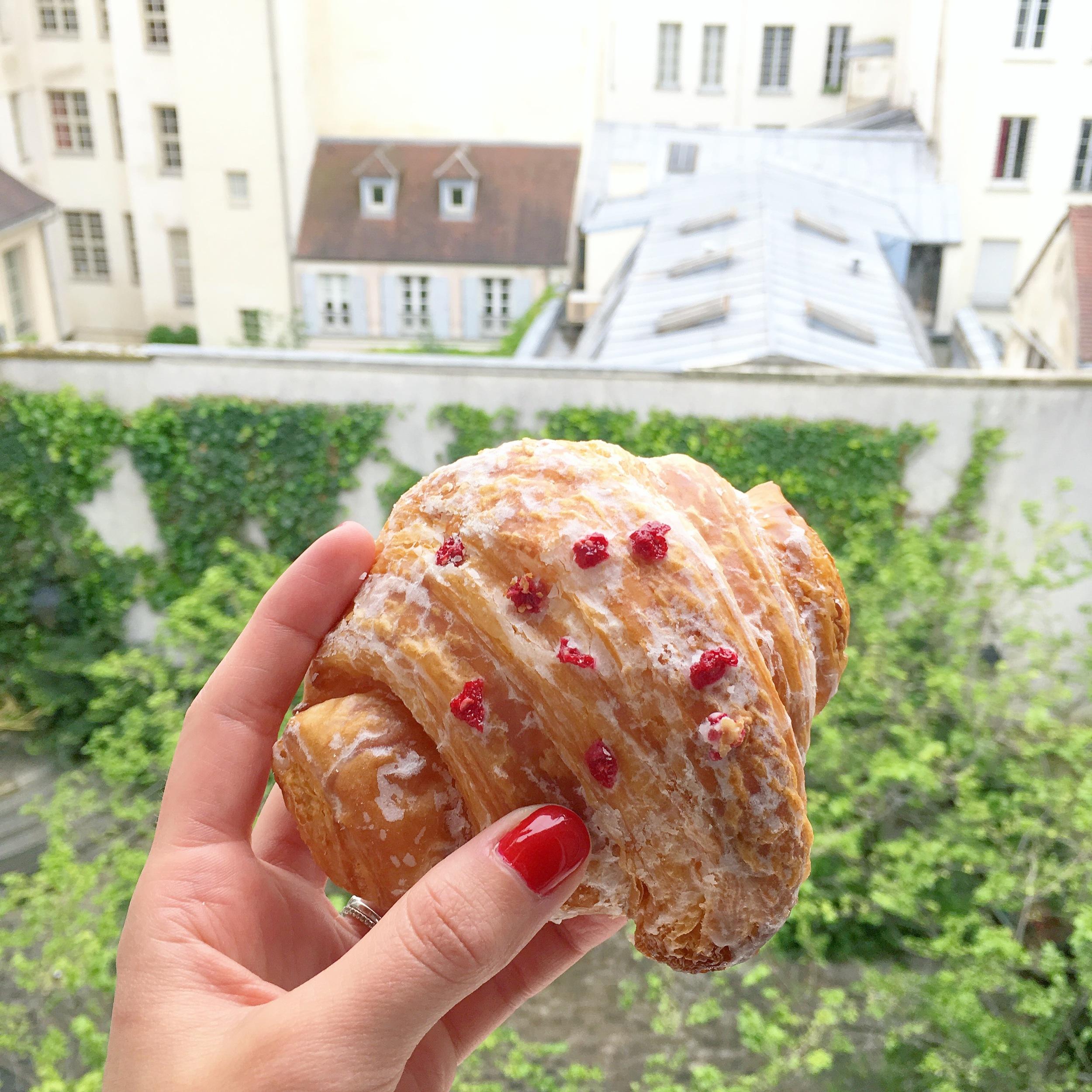 Pierre Herme Ipsahan Croissant, Paris #mfrancisdesigntravels