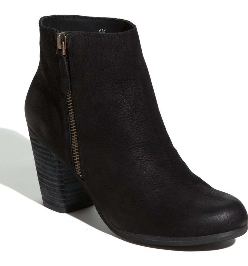 Perfect Black Leather Ankle Boots