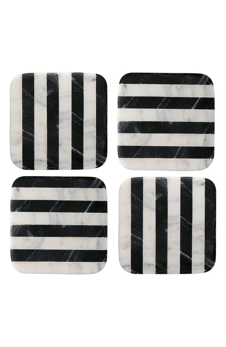 Marble Striped Coasters