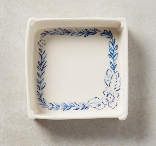 Blue Illustrated Trinket Dish from the Weekly Edit