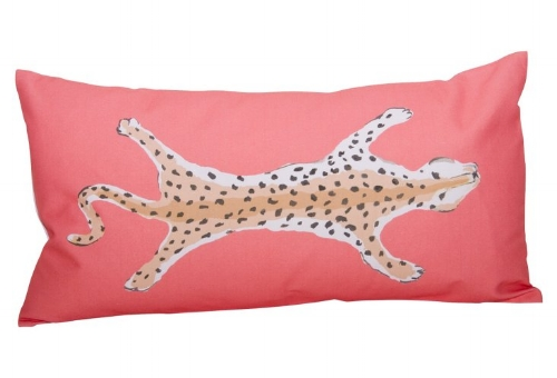 Leopard Pillow on The Weekly Edit