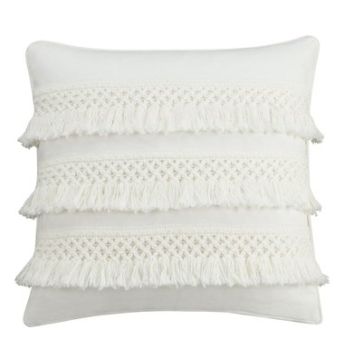 Fringed Throw Pillow on The Weekly Edit