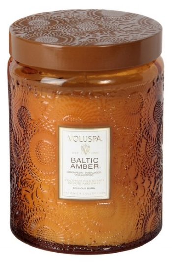 Baltic Amber Candle on The Weekly Edit