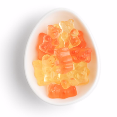 Champagne Gummy Bears on the Weekly Edit