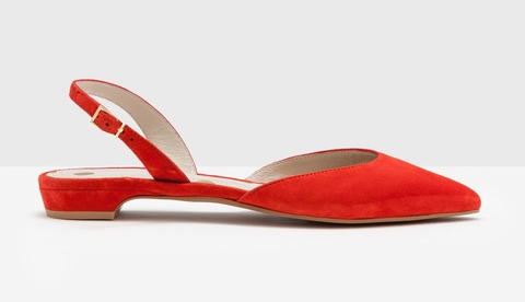 Slingback Flats on the Weekly Edit
