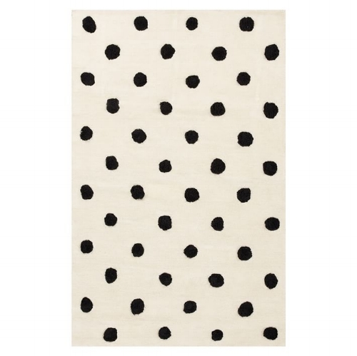 Textured Dot Rug on the Weekly Edit