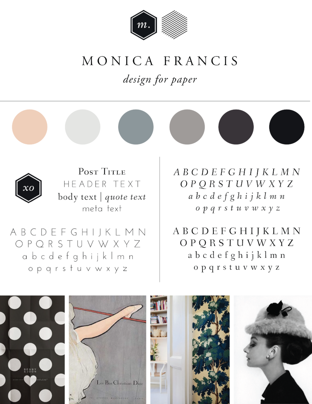 Brand Identity 2015 by Monica Francis Design
