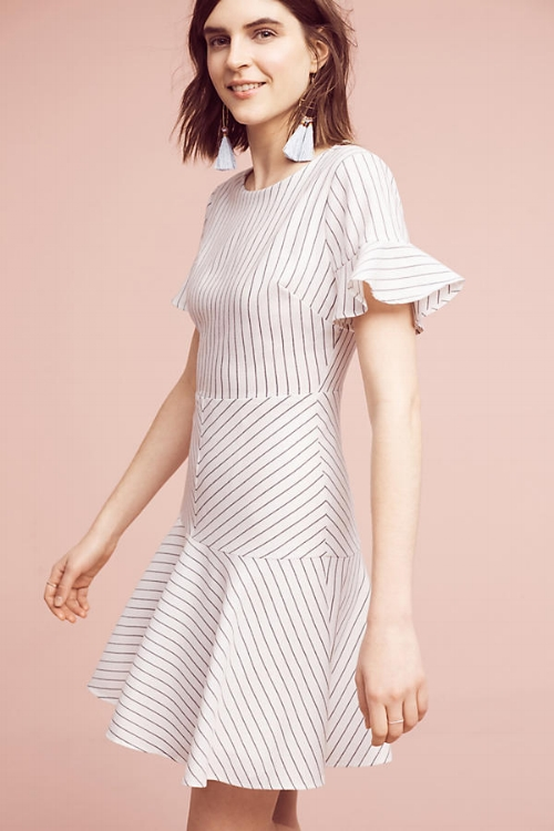 Striped Short Sleeve Dress on the Weekly Edit