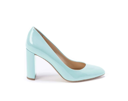 Patent Leather Block Heel on the Weekly Edit
