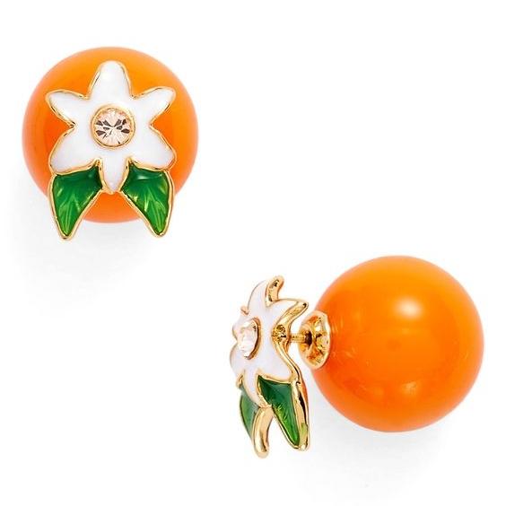 Kate Spade Citrus Earrings on the Weekly Edit