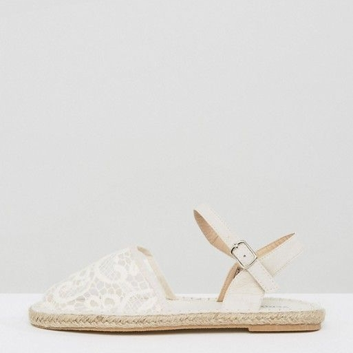 Lace Espadrilles on the Weekly Edit