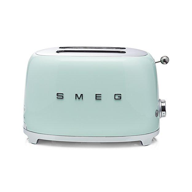 Smeg Pastel Green Retro Toaster on the Weekly Edit
