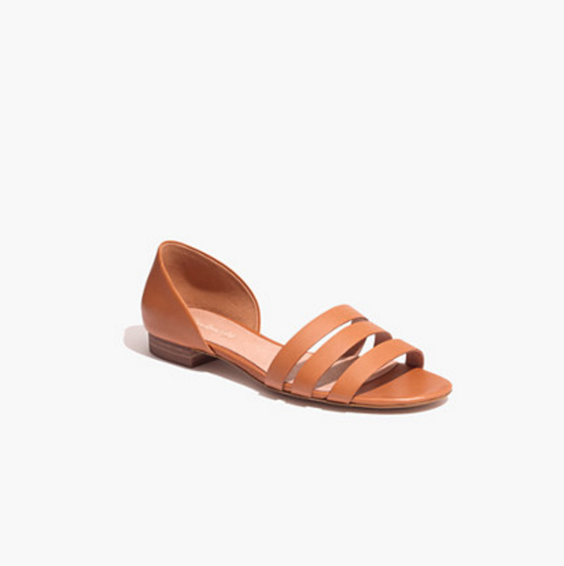 Madewell Leila Sandals on the Weekly Edit