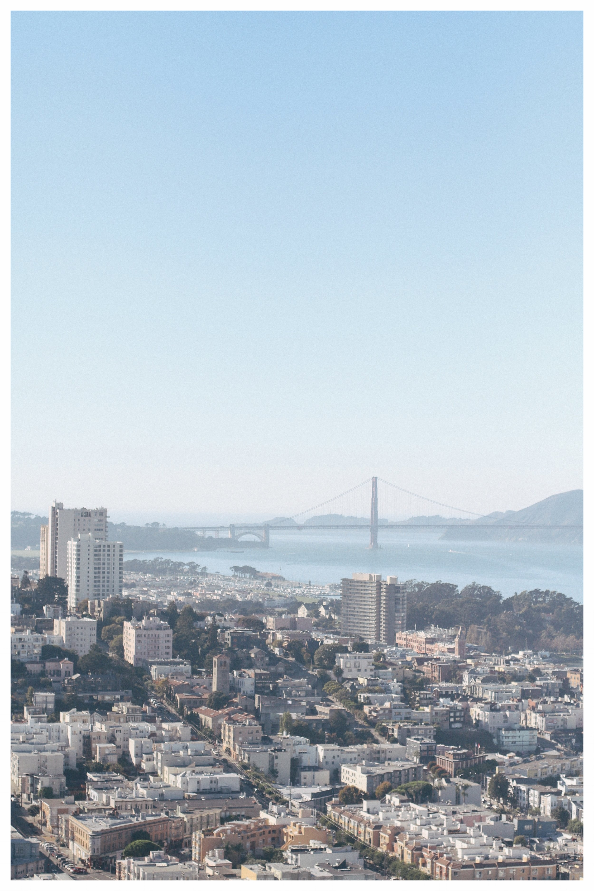 San Francisco City Guide: View from Coit Tower - Monica Francis