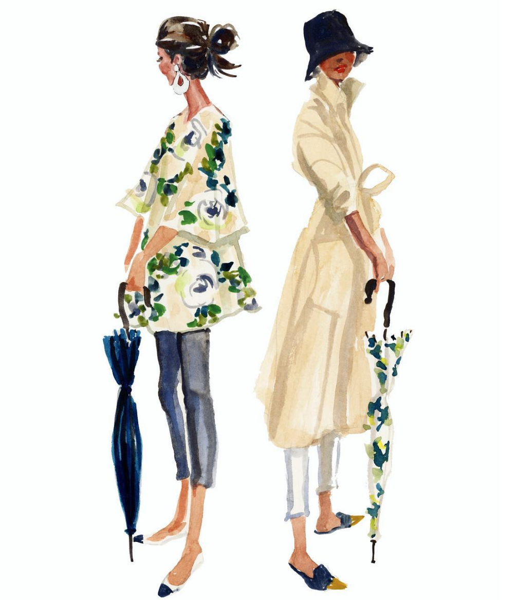 How to Dress Stylishly for Spring Rain