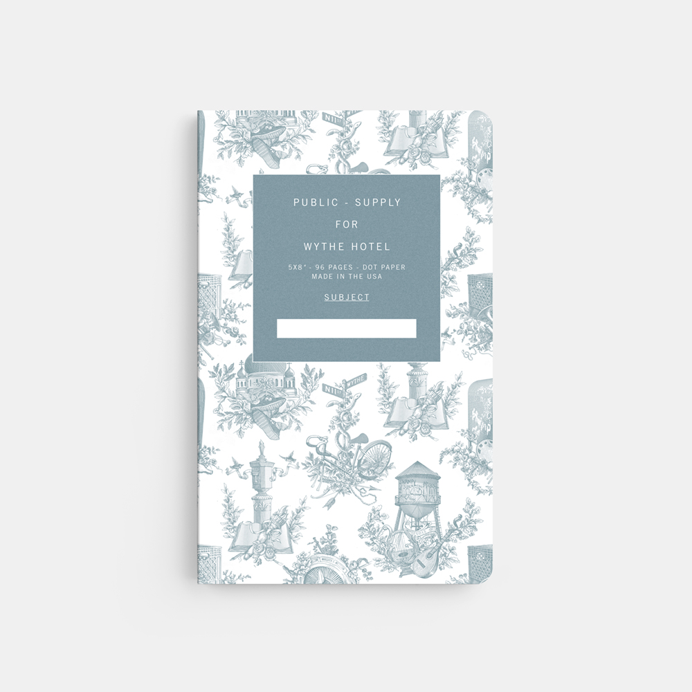 Public - Supply Wythe Toile Notebook