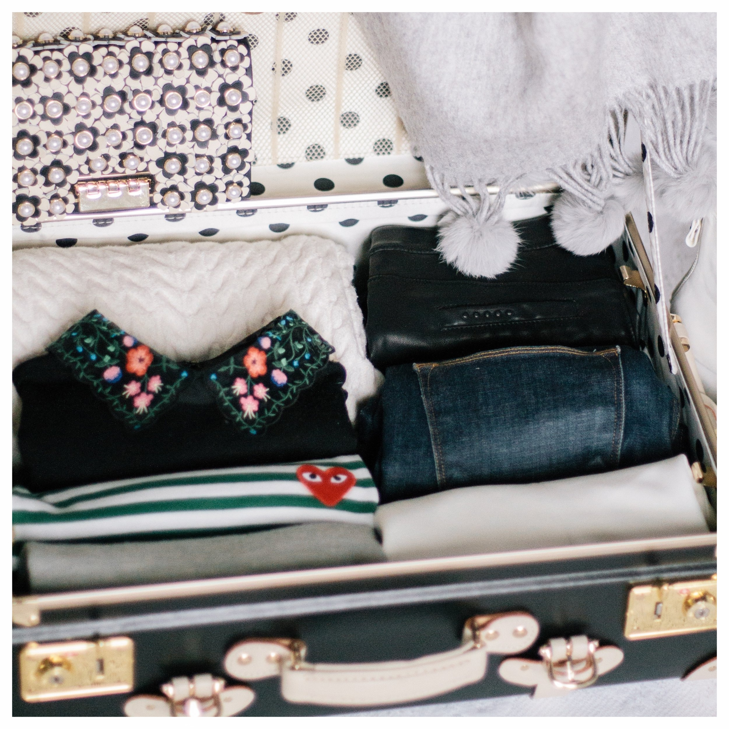 How to Pack A Travel Capsule for Europe: Winter | Monica Francis Design