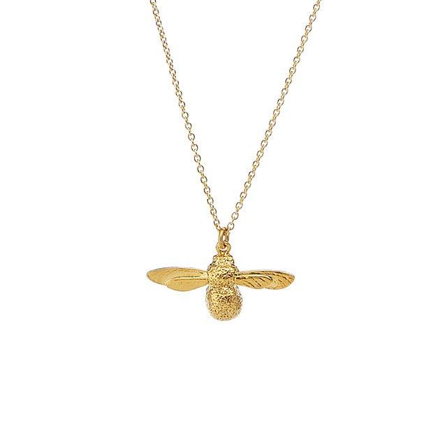Alex Monroe Baby Bee Necklace