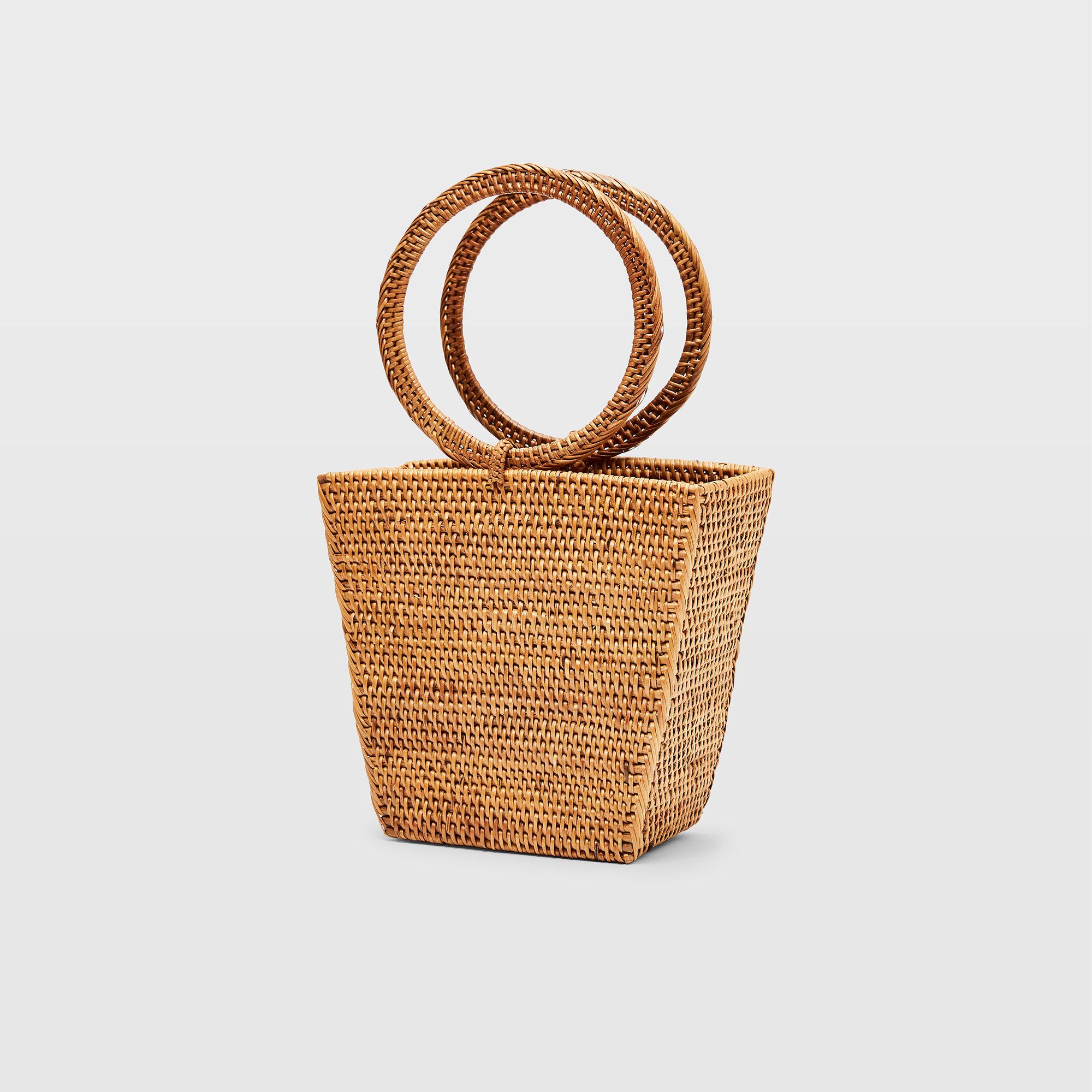 Bembien Geometric Basket Bag