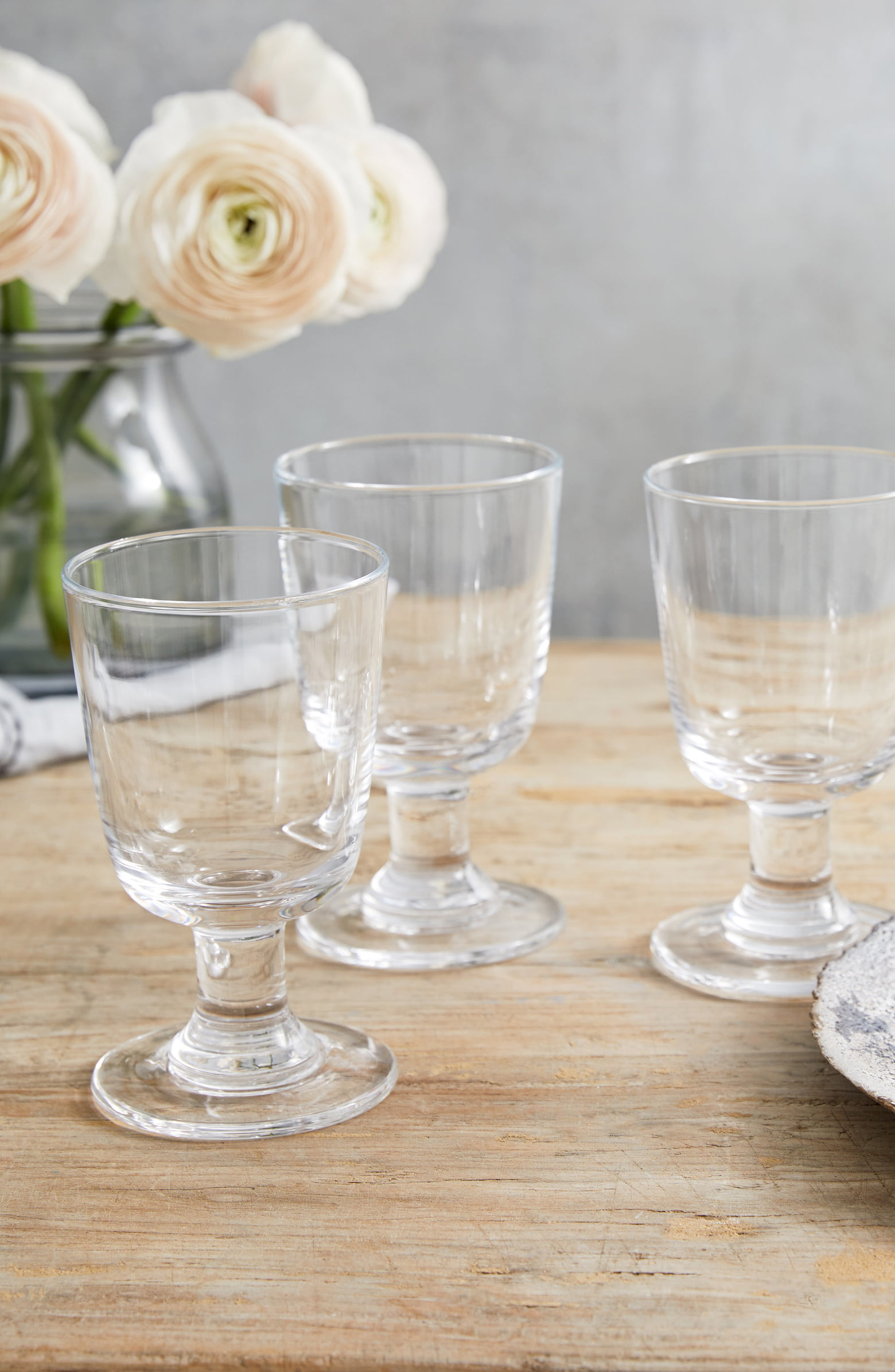 White Company Wine Glasses Set of Four