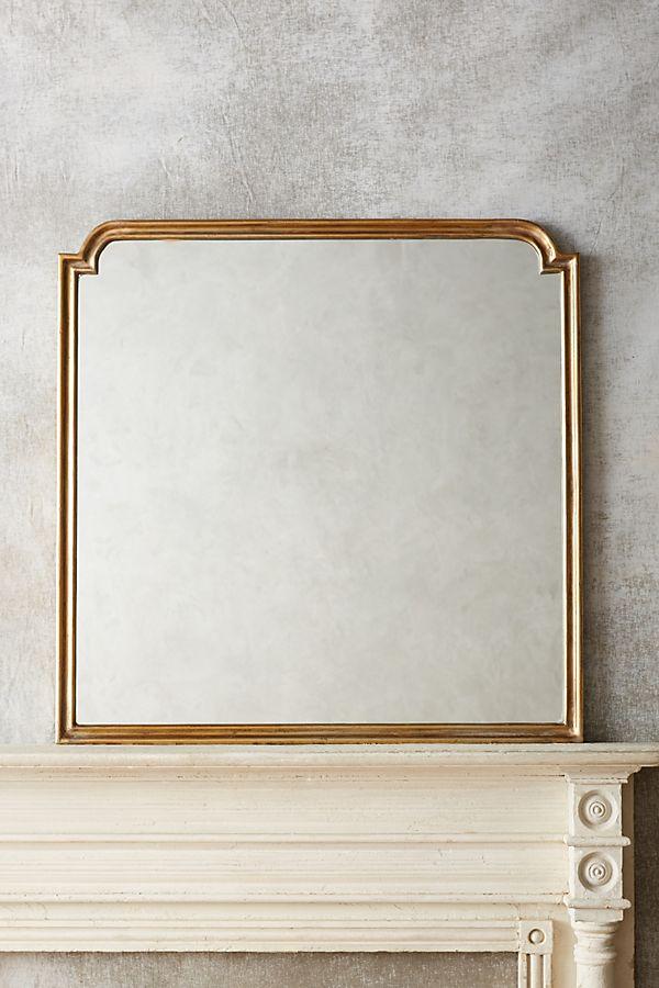 Anthropologie Aperture Mirror Brass